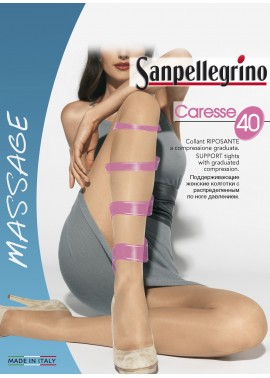 "SANPELLEGRINO COLLANT RIPOSANTE 40 DENARI ""CARESSE"""